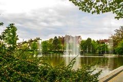 Brunnen, Frühling, opole, Polen Stockfotos