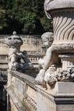 Brunnen-Gärten, Nimes, Frankreich Lizenzfreies Stockfoto