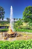 Brunnen-Gewächshausbrunnen Stockbild