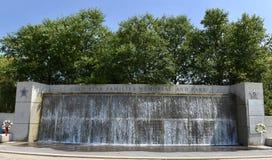Brunnen am Goldstern-Park Stockfotos