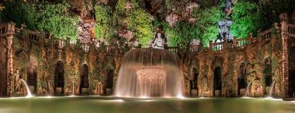 Brunnen im Garten des Landhauses d Este Lizenzfreie Stockbilder