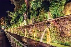 Brunnen im Garten des Landhauses d Este Lizenzfreie Stockfotografie