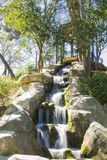 Brunnen im Maria Luisa-Park, Sevilla Lizenzfreies Stockbild