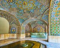 Brunnen im Sommerpavillon von Golestan, Teheran Stockfoto
