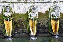 Brunnen im Tempel Goa Gajah in Ubud Bali-Insel, Indonesien Lizenzfreies Stockfoto