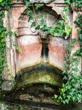 Brunnen im Wald stockfotos