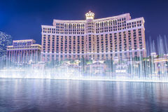 Brunnen Las Vegass, Bellagio Stockbilder