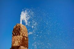 Brunnen in Lissabon Lizenzfreies Stockfoto