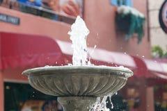 Brunnen multi-abgestuft Stockfotos
