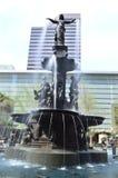 Brunnen-Quadrat in Cincinnati Lizenzfreies Stockfoto