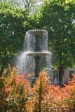 Brunnen in quadratischem St. Louis in Montreal Lizenzfreie Stockbilder