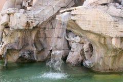 Brunnen in Rom lizenzfreie stockbilder