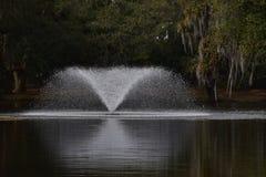 Brunnen-Spray Stockfotografie