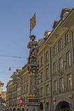 Brunnen-Statue Lizenzfreie Stockfotos