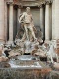 Brunnen Trevi Stockfoto