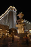 Brunnen und venetianisches Kasino in Las Vegas Lizenzfreie Stockbilder
