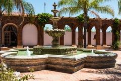 Brunnen von Adobe Guadalupe Winery Lizenzfreie Stockbilder