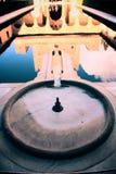 Brunnen von Alhambra Lizenzfreie Stockbilder