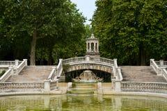 Brunnen von darcy Park in Dijon stockfoto