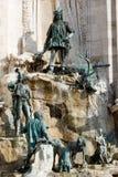 Brunnen von König Matthias Lizenzfreie Stockfotos