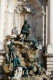 Brunnen von König Matthias Stockbild
