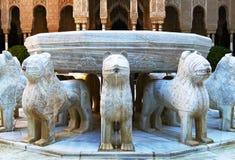 Brunnen von Löwen Stockfotografie