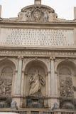 Brunnen von Moses Fountain Acqua Felice in der Stadt von Rom, Italien Lizenzfreie Stockfotografie