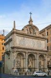Brunnen von Mosese, Rom Stockbilder