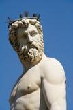 Brunnen von Neptun in Florenz Stockfotografie