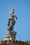 Brunnen von Neptun in Trento Lizenzfreies Stockfoto