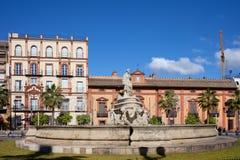 Brunnen von Sevilla Stockfotos