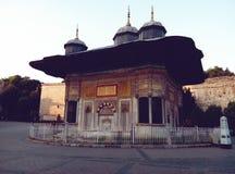 Brunnen von Sultan 3 Ahmet III ‡ Ahmed à eÅŸmesi Lizenzfreies Stockbild