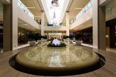 Brunnen in West-Edmonton-Mall Edmonton, Alberta stockbilder