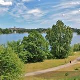 Brunnsviken royalty free stock photography