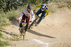 Bruno Berto followed by Luis Sousa Stock Photo