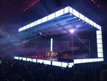 Bruno Mars concert. In Tampa, FL October 19, 2017 Stock Images