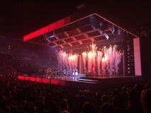 Bruno Mars concert. In Tampa, FL October 19, 2017 Royalty Free Stock Photos