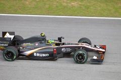 Bruno Senna bij Maleise F1 Stock Afbeeldingen