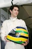 Bruno SENNA(British F3 ). Bruno SENNA(BRA),British F3 2005 Royalty Free Stock Image