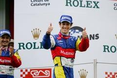 Bruno SENNA (de Reeks van Le Mans) Stock Foto's