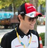 Bruno Senna formel E - Putrajaya ePrix, Malaysia, 2015 Royaltyfri Bild