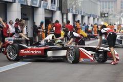 Bruno Senna Formula E Royalty Free Stock Photo