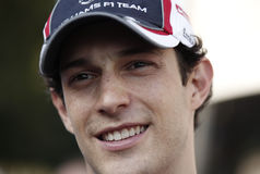 Bruno Senna Royalty Free Stock Photo