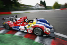 Bruno SENNA(Le Mans Series). Le Mans Series race(LMS 1000km race Royalty Free Stock Photography