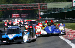 Bruno SENNA(Le Mans Series) Royalty Free Stock Images