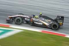 Bruno Senna van het Rennende Team van Hispania Formule 1 Royalty-vrije Stock Afbeeldingen
