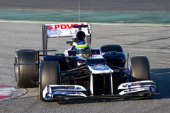 Bruno Senna (Williams) Stock Photography