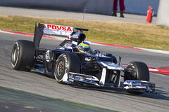 Bruno Senna of Williams F1 Stock Photos