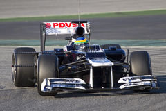Bruno Senna of Williams F1 Royalty Free Stock Image
