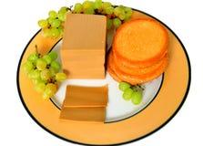 Brunost (brun ost) arkivfoton